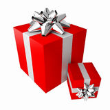 Colorful Gift Boxes set Royalty Free Stock Photo
