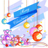 Colorful gift for Merry Christmas holiday celebration Royalty Free Stock Images