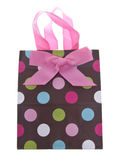 Colorful Gift Or Shopping Bag Stock Photography