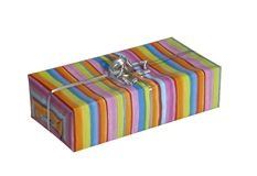 Colorful gift pack Stock Image