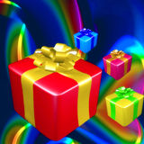 Colorful gift and presents Stock Images