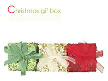 Colorful gift set Royalty Free Stock Images