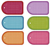 Colorful Gift Tags Stock Photos