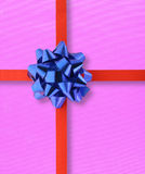 Colorful gift - top view Royalty Free Stock Image