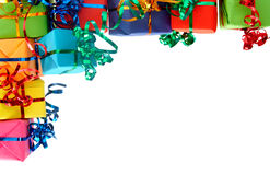 Colorful gifts Stock Image