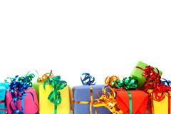Colorful gifts Stock Photography