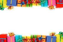 Colorful gifts Royalty Free Stock Photos