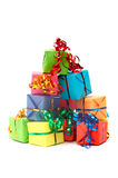 Colorful gifts Royalty Free Stock Photo