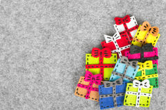 Colorful gifts Royalty Free Stock Photography