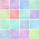 Colorful gingham tile background Royalty Free Stock Images