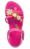 Colorful girl sandal Royalty Free Stock Photos