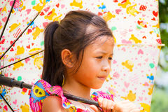 Colorful girl Stock Photography