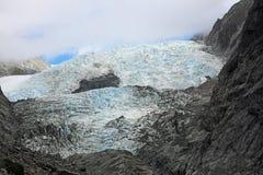 Colorful glacier. Westland Tai Poutini National Park,  New Zealand Royalty Free Stock Photos