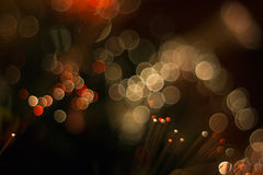 Colorful glare lights. Royalty Free Stock Photo