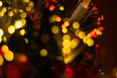 Colorful glare lights. Royalty Free Stock Image