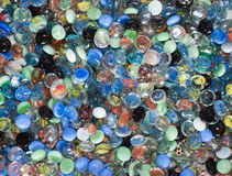 Colorful glass ball. Royalty Free Stock Images