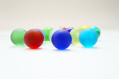 Colorful glass balls Stock Photography