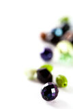 Colorful glass beads Royalty Free Stock Photography