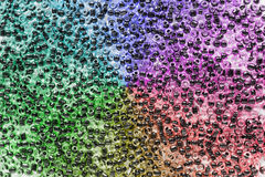 Colorful glass beads Royalty Free Stock Image