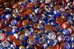 Colorful glass beads Royalty Free Stock Photo
