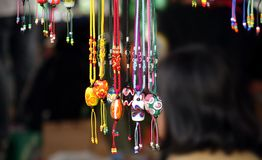 Colorful Glass Beads Jewelry Royalty Free Stock Photo