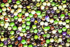 Colorful glass beads Royalty Free Stock Photos