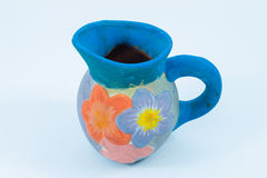 Colorful glass clay Stock Image
