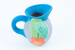 Colorful glass clay Stock Photography