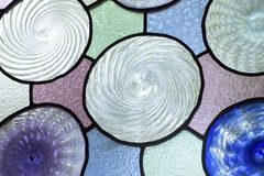 Colorful glass stock photography