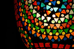 Colorful glass mosaic Royalty Free Stock Images