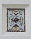 Colorful glass mosaic art Stock Photos