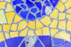 Colorful glass mosaic art Royalty Free Stock Photography