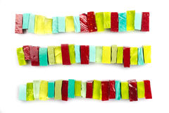 Colorful glass mosaic tiles Royalty Free Stock Photo