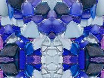 Colorful glass pieces, can use as background Royalty Free Stock Image