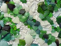 Colorful glass pieces, can use as background Stock Photo