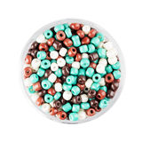 Colorful Glass Seed Beads Royalty Free Stock Image