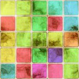 Colorful glass tiles Royalty Free Stock Photos