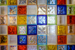 colorful glass tiles Royalty Free Stock Photo