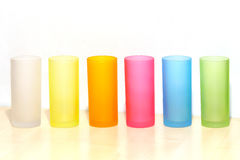 Colorful glasses Stock Photography