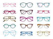 Colorful glasses Royalty Free Stock Photos