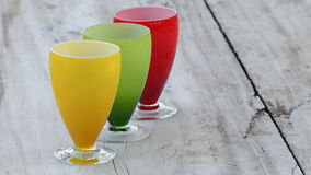 Colorful glasses Royalty Free Stock Image