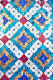 Colorful glazed tile background Royalty Free Stock Photo