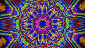 Colorful glitch imitation light transformations fancy background.