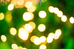 Colorful Glitter light from Christmas lighting background abstra Stock Photos