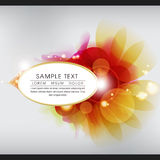 Colorful Glittering Abstract Background. This image comes with a  illustration and can be scaled to any size without loss of resolution Royalty Free Stock Images