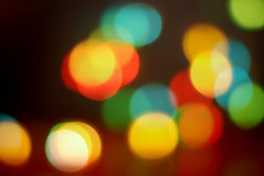Colorful glittering lights Royalty Free Stock Images