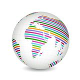 Colorful Globe Stock Images