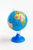 Colorful Globe on Stand with Africa Continent Royalty Free Stock Image