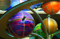 Colorful Globes Royalty Free Stock Photos