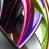 Colorful glossy abstract Stock Image